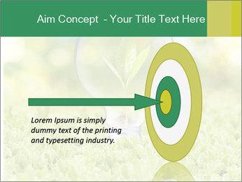 Green Light Bulb PowerPoint Template - Slide 83