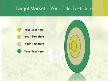 Green Light Bulb PowerPoint Template - Slide 84