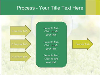 Green Light Bulb PowerPoint Template - Slide 85