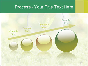 Green Light Bulb PowerPoint Template - Slide 87