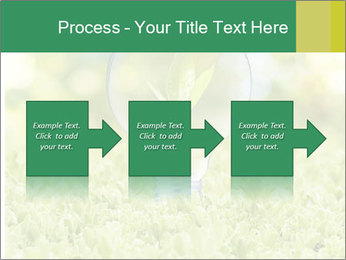 Green Light Bulb PowerPoint Template - Slide 88