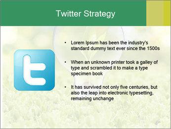 Green Light Bulb PowerPoint Template - Slide 9