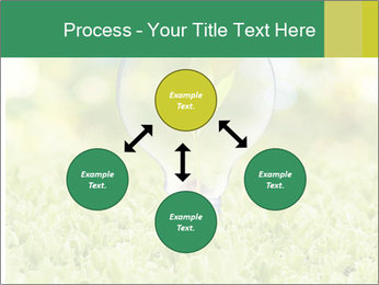 Green Light Bulb PowerPoint Template - Slide 91