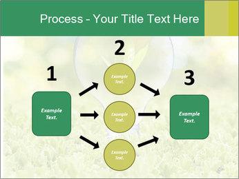 Green Light Bulb PowerPoint Template - Slide 92