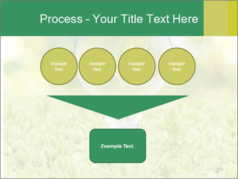 Green Light Bulb PowerPoint Template - Slide 93