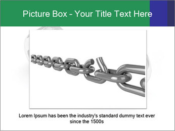 Three Pieces Of Chain PowerPoint Template - Slide 15