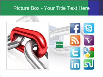 Three Pieces Of Chain PowerPoint Template - Slide 21