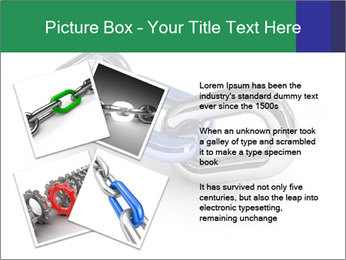 Three Pieces Of Chain PowerPoint Template - Slide 23