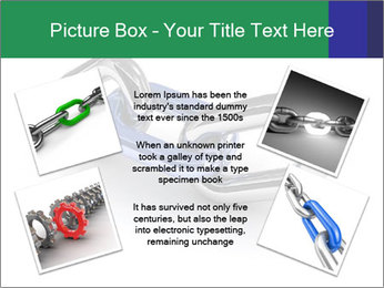 Three Pieces Of Chain PowerPoint Template - Slide 24