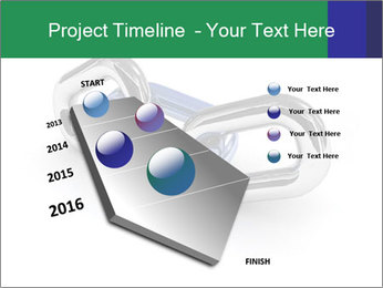 Three Pieces Of Chain PowerPoint Template - Slide 26