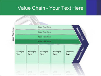 Three Pieces Of Chain PowerPoint Template - Slide 27