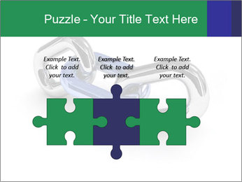 Three Pieces Of Chain PowerPoint Template - Slide 42