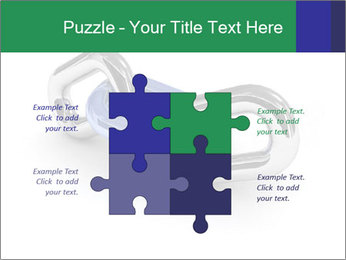 Three Pieces Of Chain PowerPoint Template - Slide 43