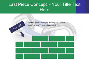 Three Pieces Of Chain PowerPoint Template - Slide 46