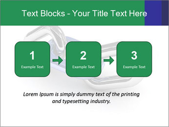 Three Pieces Of Chain PowerPoint Template - Slide 71