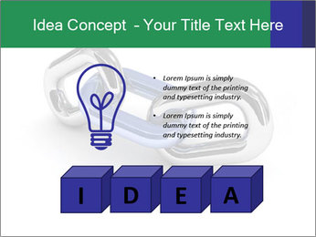 Three Pieces Of Chain PowerPoint Template - Slide 80