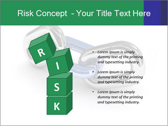 Three Pieces Of Chain PowerPoint Template - Slide 81