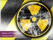 Nuclear Sign PowerPoint Templates