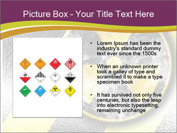 Nuclear Sign PowerPoint Template - Slide 13