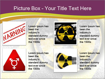 Nuclear Sign PowerPoint Template - Slide 14