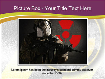 Nuclear Sign PowerPoint Template - Slide 16