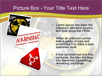 Nuclear Sign PowerPoint Template - Slide 17