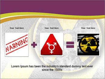 Nuclear Sign PowerPoint Template - Slide 22