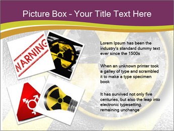 Nuclear Sign PowerPoint Template - Slide 23