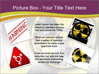Nuclear Sign PowerPoint Template - Slide 24