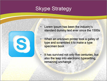 Nuclear Sign PowerPoint Template - Slide 8