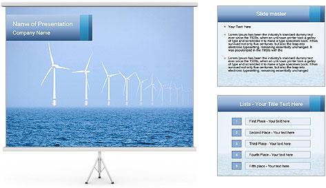 Windfarm PowerPoint Template