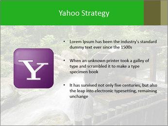 Beautiful Water Cascade PowerPoint Templates - Slide 11