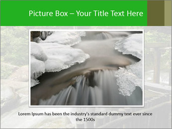 Beautiful Water Cascade PowerPoint Template - Slide 15
