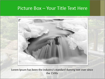 Beautiful Water Cascade PowerPoint Template - Slide 16