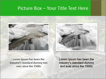 Beautiful Water Cascade PowerPoint Template - Slide 18