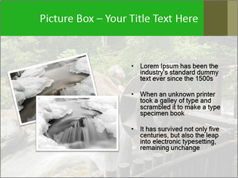 Beautiful Water Cascade PowerPoint Template - Slide 20