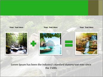 Beautiful Water Cascade PowerPoint Templates - Slide 22