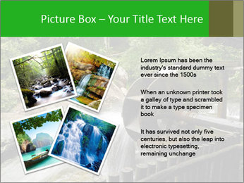 Beautiful Water Cascade PowerPoint Template - Slide 23