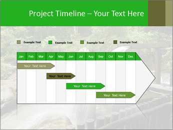 Beautiful Water Cascade PowerPoint Templates - Slide 25