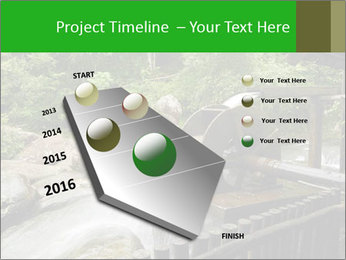 Beautiful Water Cascade PowerPoint Template - Slide 26