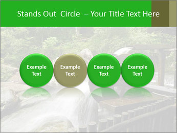Beautiful Water Cascade PowerPoint Template - Slide 76