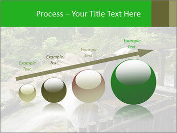 Beautiful Water Cascade PowerPoint Template - Slide 87