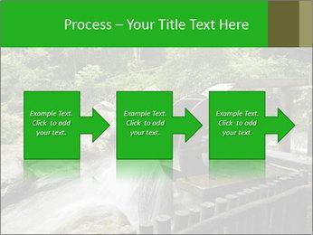 Beautiful Water Cascade PowerPoint Templates - Slide 88
