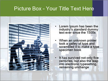 Busy Day In Office PowerPoint Template - Slide 13