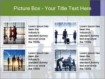 Busy Day In Office PowerPoint Template - Slide 14
