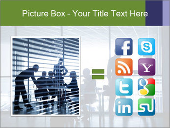 Busy Day In Office PowerPoint Template - Slide 21