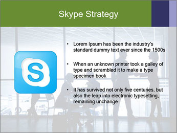Busy Day In Office PowerPoint Template - Slide 8