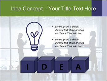Busy Day In Office PowerPoint Template - Slide 80