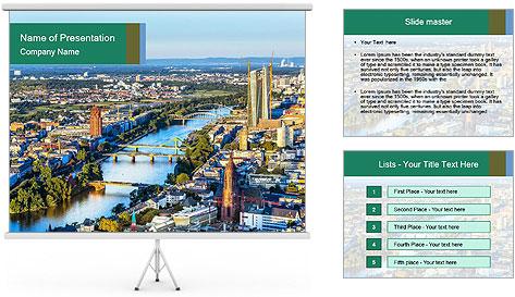 Frankfurt City PowerPoint Template