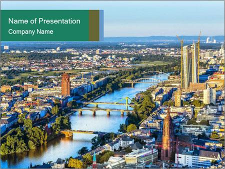 Frankfurt City PowerPoint Templates